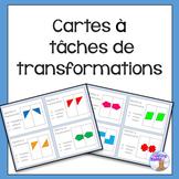 Cartes à  tâches  de transformations