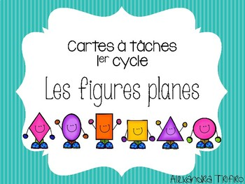 Cartes à tâches - Figures planes