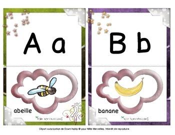 Cartes alphabet maternelle / preschool alphabet