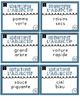 Cartes d'identification des adjectifs