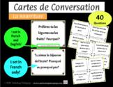 Cartes de Conversation - La nourriture