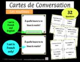 Cartes de Conversation - Les routines et les verbes réfléchis