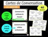Cartes de Conversation - les adjectifs