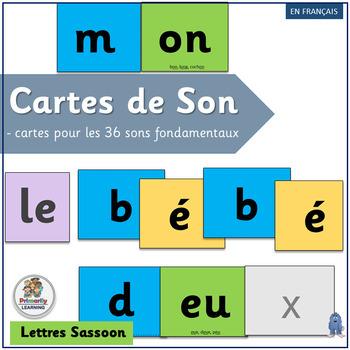 French: Cartes de Son complements programs like Le manuel phonique (SASSOON)