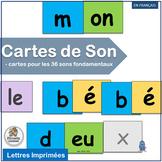French: Cartes de Son complements programs like Le manuel phonique.