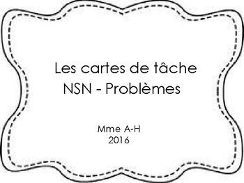 Cartes de Tâches - NSN