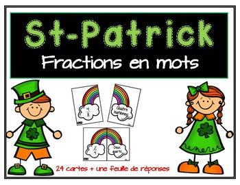 Cartes de fractions - St-Patrick - fractions