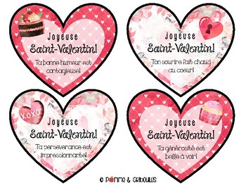 Cartes de la Saint-Valentin by Pomme et gribouillis | TpT