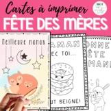 Cartes de la fête des mères   Mother's Day Cards / Activity FRENCH
