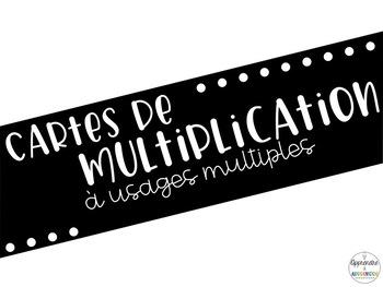 Cartes de multiplication