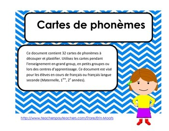 Conscience phonemique - Phoneme segmentation French Immersion
