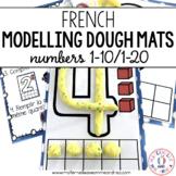 Cartes de pâte à modeler - les nombres 1-20 (FRENCH number modelling dough mats)