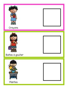 Cartes de responsabilités (French Classroom Jobs)
