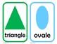 Cartes des formes (shape cards) French