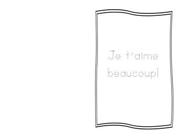 Cartes fête des pères / French Father's Day Card