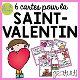 Cartes pour la Saint-Valentin - GRATUIT (Free FRENCH Valentine's Day Cards)