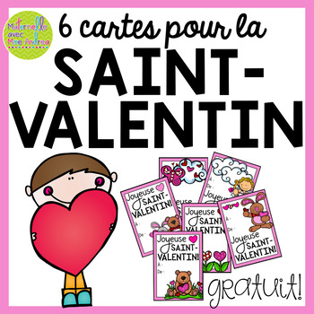Cartes pour la Saint-Valentin - GRATUIT (Free FRENCH Valentine's Day Cards)
