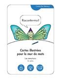 Cartes pour un mur de mots: Les émotions (36 cartes)