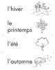 Cartes pour un mur de mots: Les quatre saisons (30 cartes)