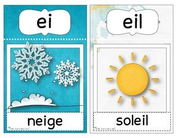 Cartes sons simples et complexes / phonic / sound letters