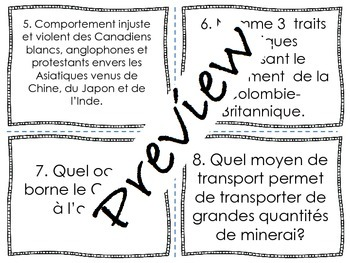 Cartes à tâche en univers social - 4 blocs - 3e cycle - 32 pages