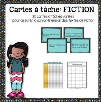 Cartes à tâche - fiction