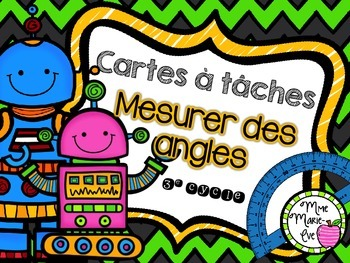 Cartes à tâches - Angles (Angles Task Cards)