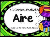 Aire : 48 cartes à tâches