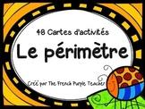Le périmètre : 48 cartes à tâches