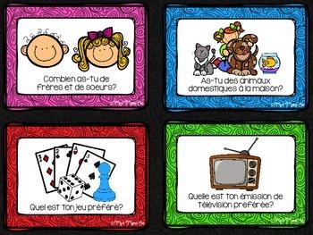 Cartes à tâches - Rentrée scolaire (Back to School Task Cards)