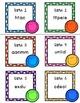 Cartes à tâches pour réviser les mots usuels