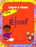 Cartes à tâches pour Étude de mots Ateliers Task Card Word Study