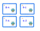 Cartes à tâches : soustractions (