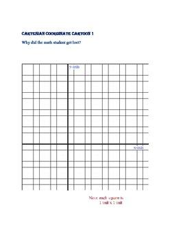 Cartesian Coordinate Cartoons volume 1 (7 puzzles)