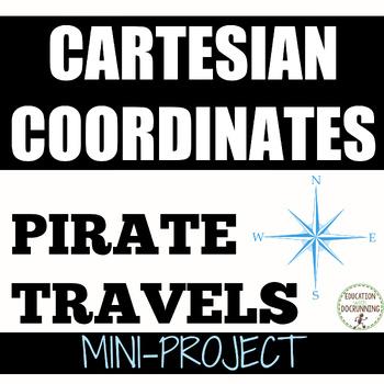 Cartesian Coordinates Map Distances and Coordinates Project