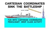 Cartesian Coordinates Plotting - Battleship vs Battleship