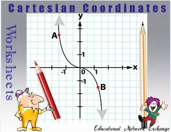 Cartesian Coordinates Worksheets