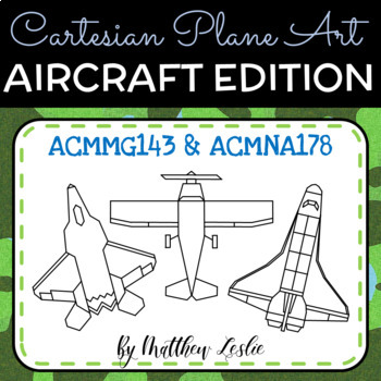 Cartesian Plane Art - Aircraft Edition