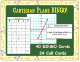 Cartesian Plane BINGO