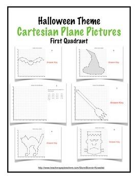 Cartesian Plane Pictures - Halloween