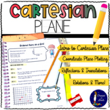 Cartesian Plane Workbook Print and Digital