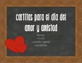 Cartitas para el día del amor y la amistad