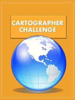 Cartographer Challenge - A Printable Map-Making Activty!