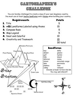 Cartographer's Challenge