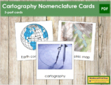 Cartography Nomenclature Cards (Basic Concepts)
