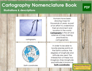Cartography Nomenclature (Basic Concepts) Book