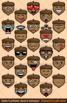 Cartoon Acorn Emoji Clipart Faces / Acorn Cartoon Fall Emojis Emotions