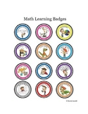 Cartoon Badges for Math - Gamify your classroom!