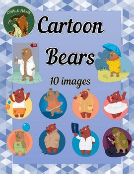 Cartoon Bears Clip Art