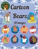 Cartoon Bears Clip Art